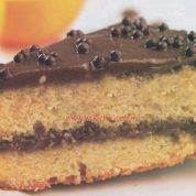 چگونه کیک پرتقال با کرم قهوه درست کنیم؟