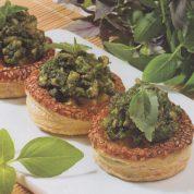 چگونه نان والوان با سس سبز درست کنیم؟