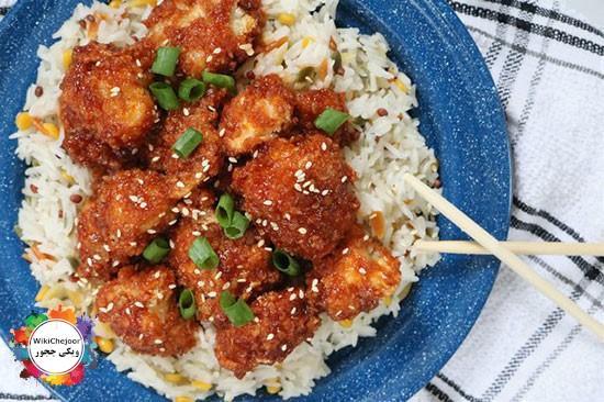 چگونه غذای چینی ( تسو ) درست کنیم؟