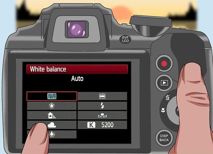 از بهترین تنظیمات برای گرفتن عکس مورد نظر استفاده کنید.