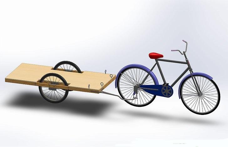 چگونه یک تریلر دوچرخه بسازیم؟