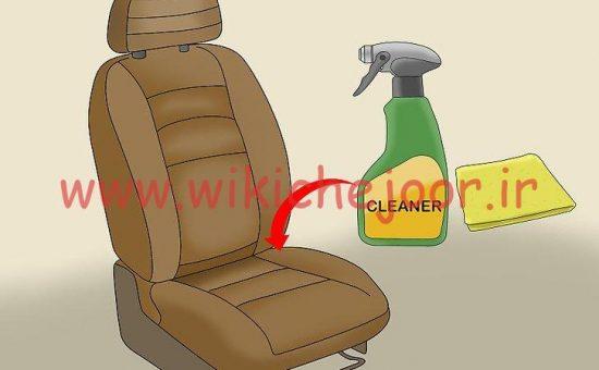 چگونه صندلی های پلاستیکی و چرمی را پاک کنیم؟