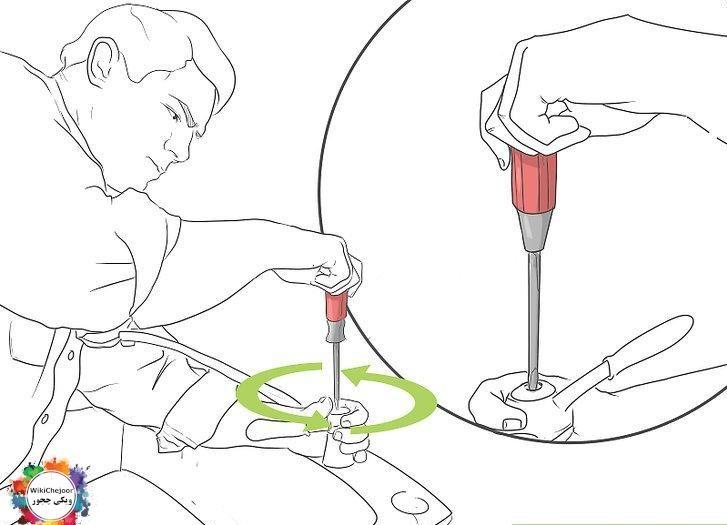 تعمیر یک شیر فشاری