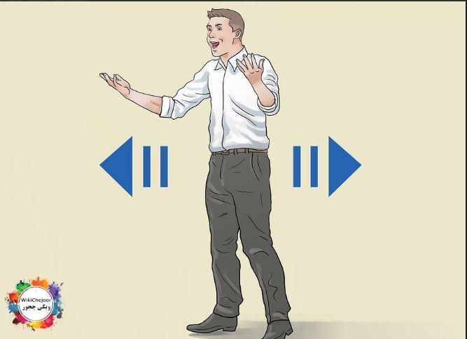استفاده از حرکات مختلف برای برقراری ارتباط