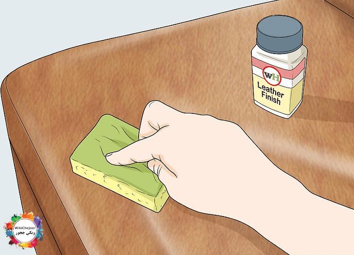 چگونه خراش های روی مبل چرمی را تعمیر کنیم؟