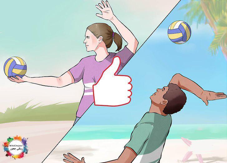 چگونه در والیبال سرویس بزنیم؟