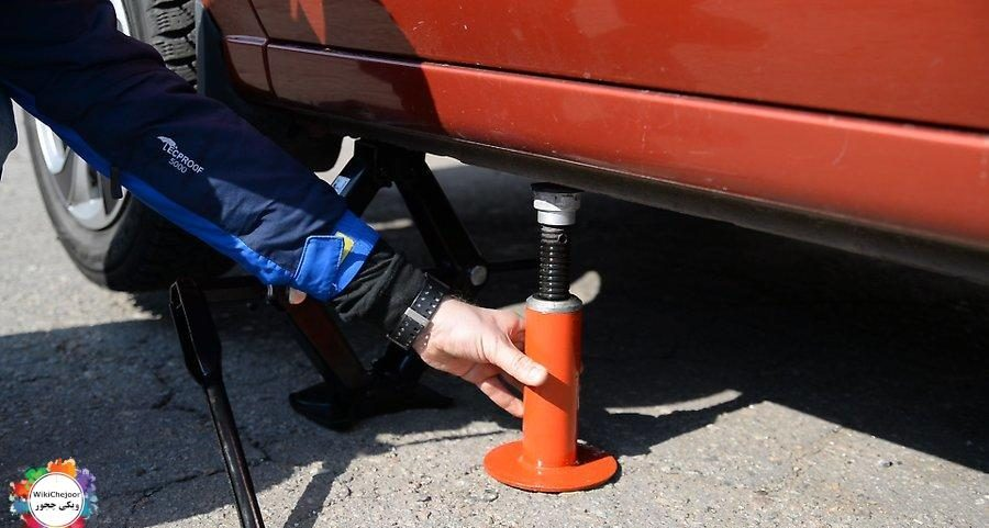 How to jack the car