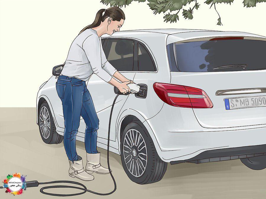 چگونه ماشین برقی را شارژ کنیم؟