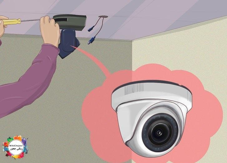 دوربین خود را در درون وسایل مخفی کنید