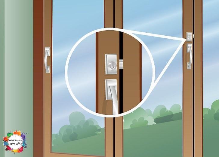 حفاظت از خانه زمانیکه در خانه اید