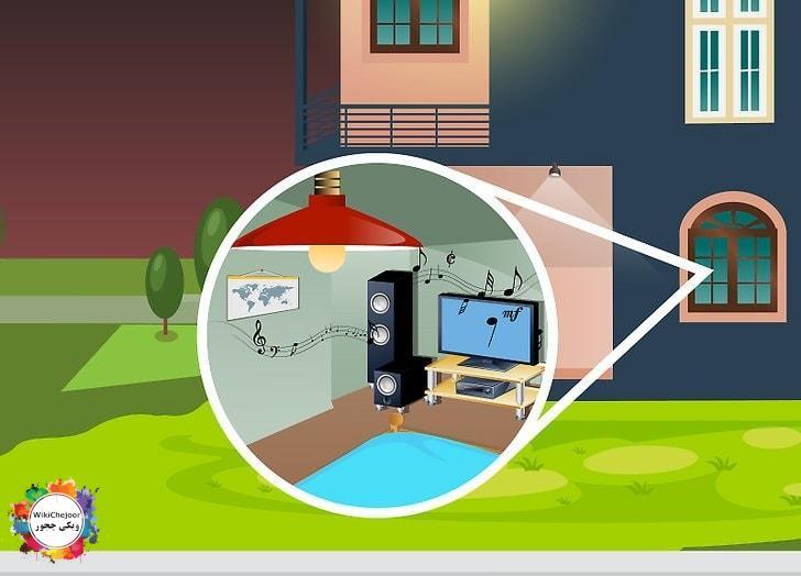 حفاظت از خانه زمانیکه در خانه نیستید
