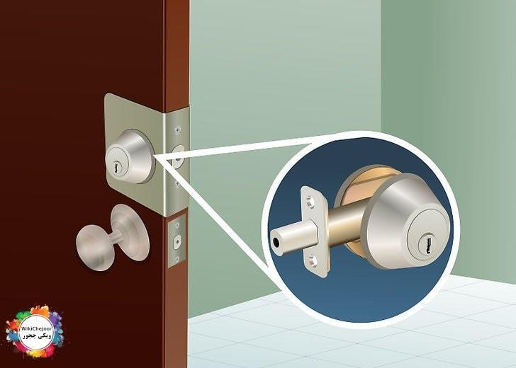 امن سازی ورودی های خانه