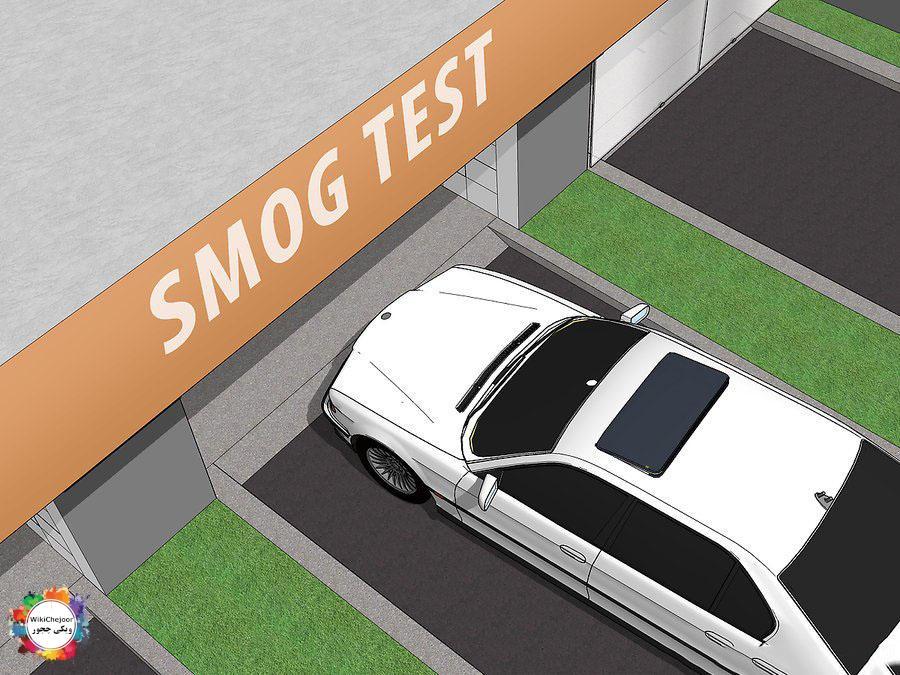تست smog  را انجام دهید.