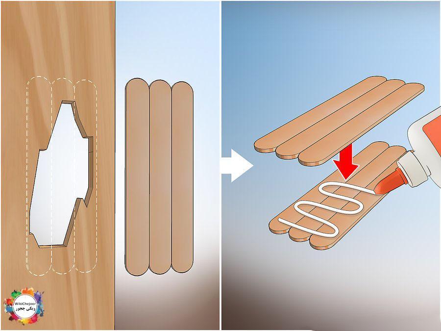 چگونه حفره های بزرگ در چوب را پر کنیم؟