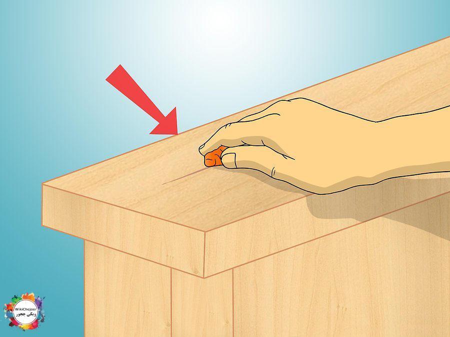 چگونه خراش روی چوب و شیشه را ترمیم کنیم؟