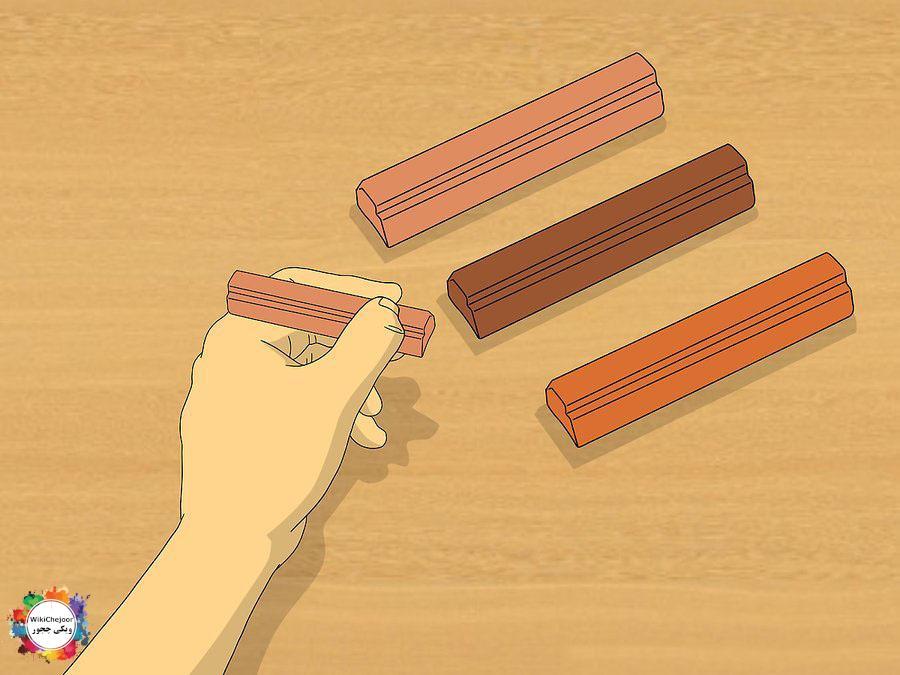 اصلاح خراش های عمیق در مبلمان چوبی