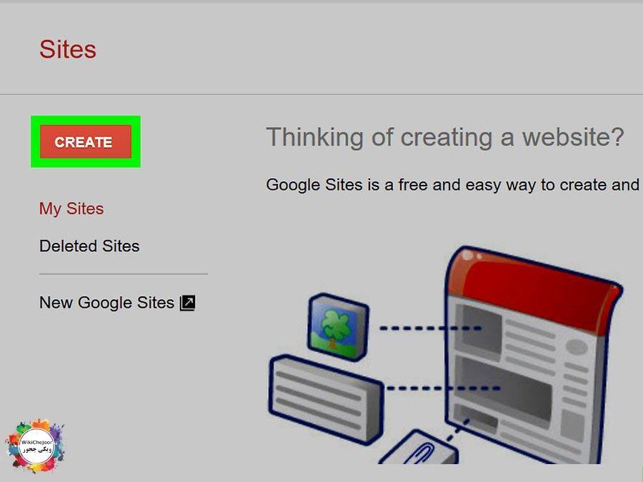 ایجاد سایت
