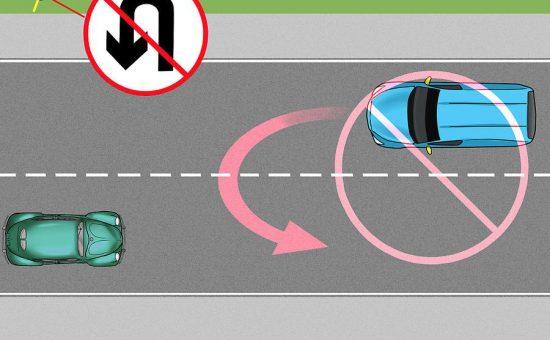 چگونه با ماشین می توان به راست ، چپ و به شکل  U چرخید؟