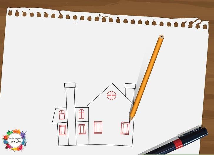 نقاشی خانه ارواح شماره دو