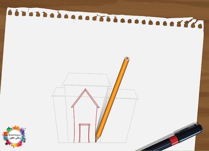 نقاشی خانه ارواح شماره یک