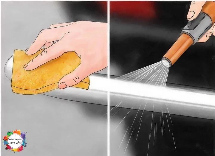 تمیز کردن کروم با اسید ملایم