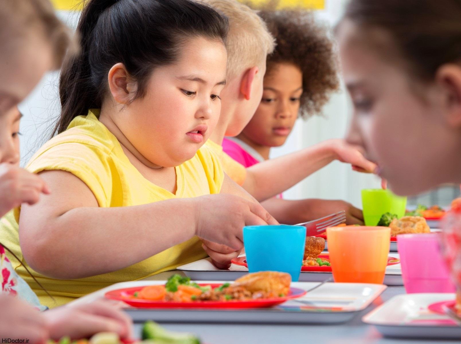 چگونه در مورد چاقی با کودک صحبت کنیم؟