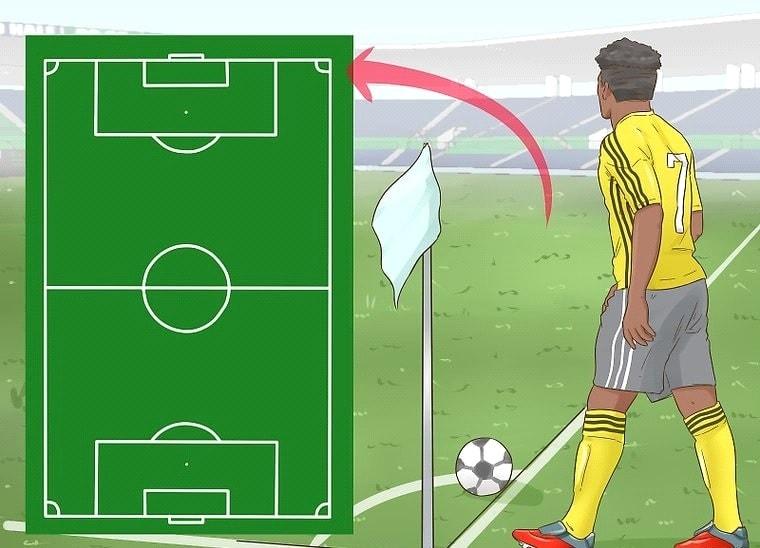 چگونه ضربه کرنر در فوتبال را بزنیم؟