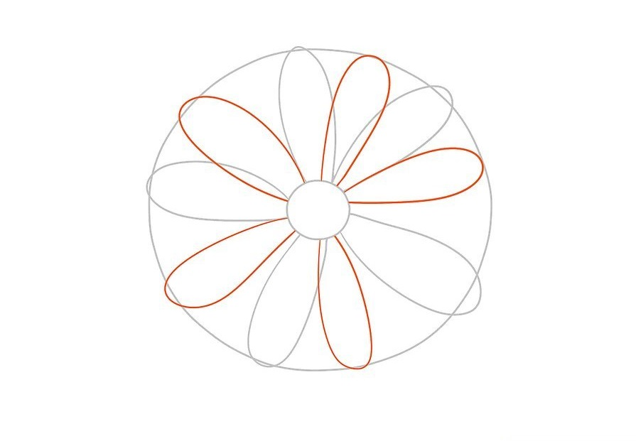 How to Draw a Flower