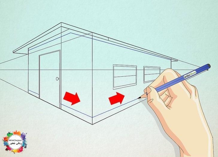 نقاشی خانه طرح یک