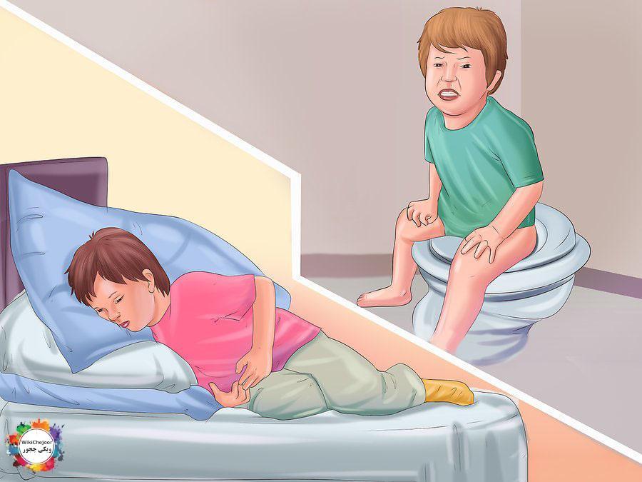 تشخیص یبوست در کودک