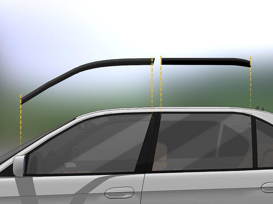 نحوه نصب بادگیر اتومبیل
