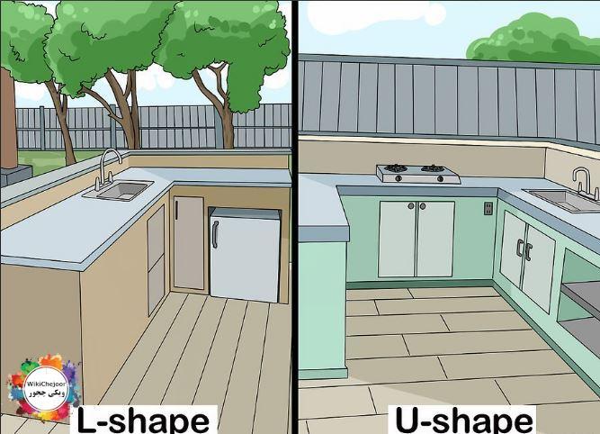 چگونه یک آشپزخانه در فضای باز بسازیم؟