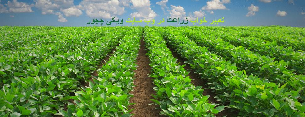 تعبیر خواب زراعت