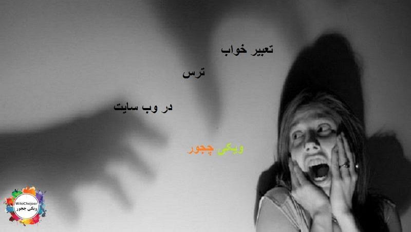 تعبیر خواب ترس
