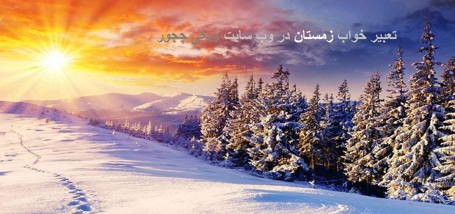 تعبیر خواب زمستان (برف)