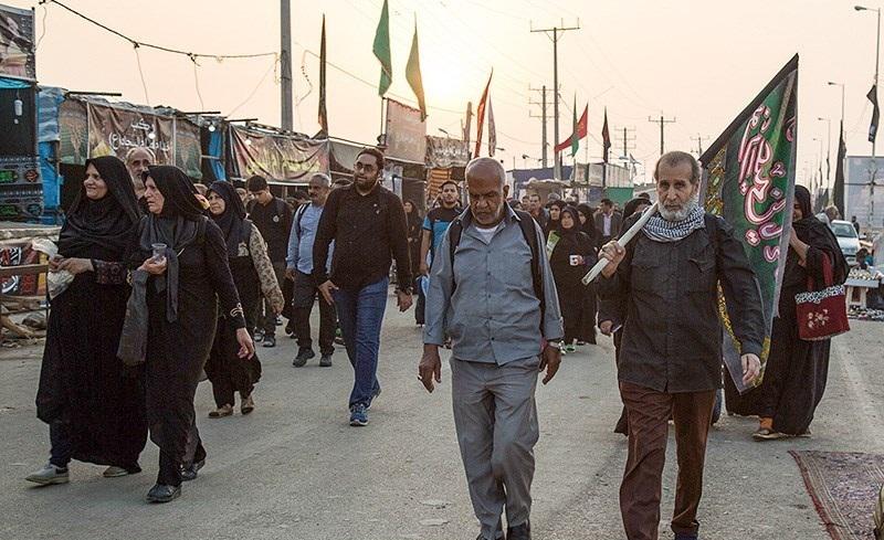راهپیمایی اربعین کربلا