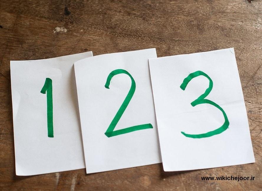 چگونه به کودکان مهد کودکی اعداد را یاد دهیم؟