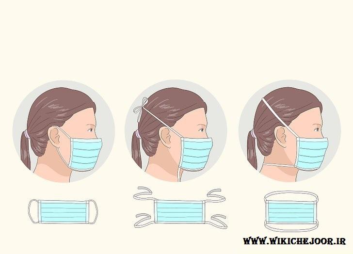 چگونه ماسک را به صورت صحیح بر صورت قرار دهیم؟ |طریقه قرار دادن صحیح ماسک بر صورت